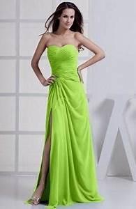 lime green bridesmaid dress Naf Dresses