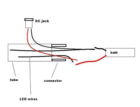 Schematic Power Cable Wiring by Simpler Way To Connect Dc Use Separate Wires To