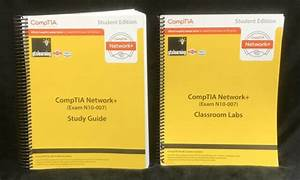 Comptia Network  Study Guide  U0026 Classroom Lab Manual  Exam