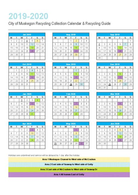 republic services recycling calendar  calendar