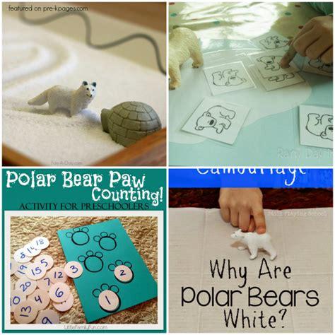 polar activities for pre k pages 601   Polar Bear Games