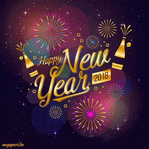 happy new year 2018 gif animation on we it