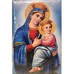 Mary Icon Leather Christ Carrying Bookstore