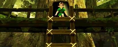 Zelda Legend Kokiri Forest 3d Ocarina Gifs