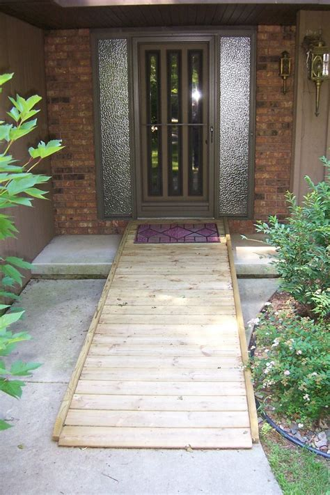 small handicap ramps wheelchair ramp ramps pinterest