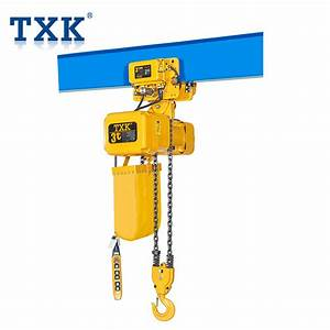 China 3ton Portable Electric Chain Hoist For I