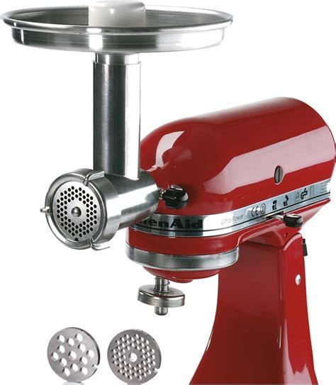 cuisine metal jupiter metal food grinder attachment for kitchenaid stand