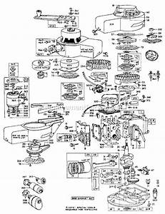 briggs and stratton 60500 series parts list and diagram With stratton 5 hp engine besides briggs and stratton 1 2 hp wiring diagram