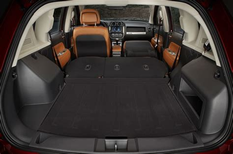 jeep compass cargo space motortrend