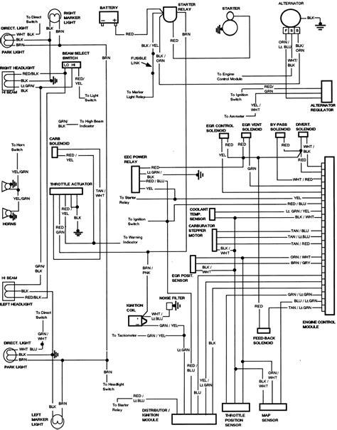 ford   diesel starter solenoid wiring diagram