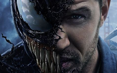 wallpaper venom tom hardy  marvel comics