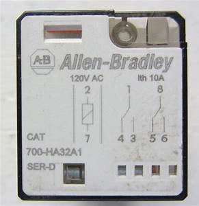 Allen Bradley 700 60hz Dpdt