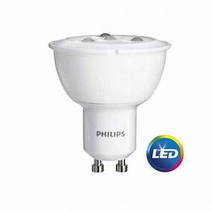 Philips Gu10 Led : philips led dimmable flood light bulb gu10 bright white 50 we 3 ct ~ Buech-reservation.com Haus und Dekorationen