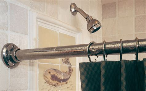 shower curtain rod brackets and hooks sr rocky