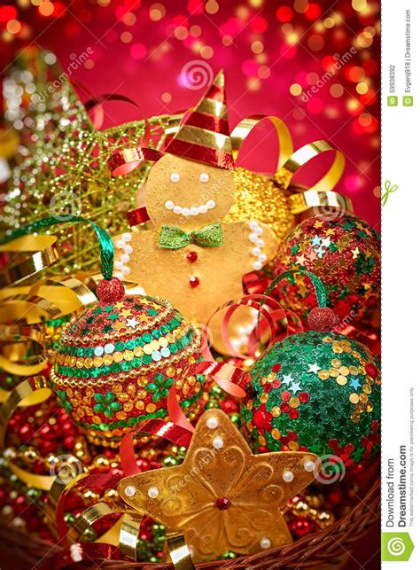 new year 2016 merry decoration stock