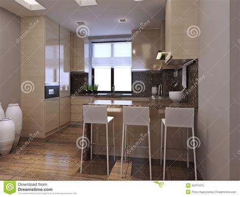 cucina sala da pranzo sala da pranzo della cucina nello stile moderno