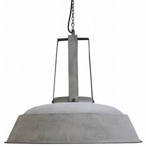 Lampe Suspension Industrielle : hk living lampe suspension industrielle rustique m tal gris mat 74 hk living petite lily ~ Dallasstarsshop.com Idées de Décoration