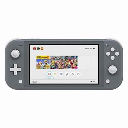 Switch Nintendo Lite Consola Gris Consolas