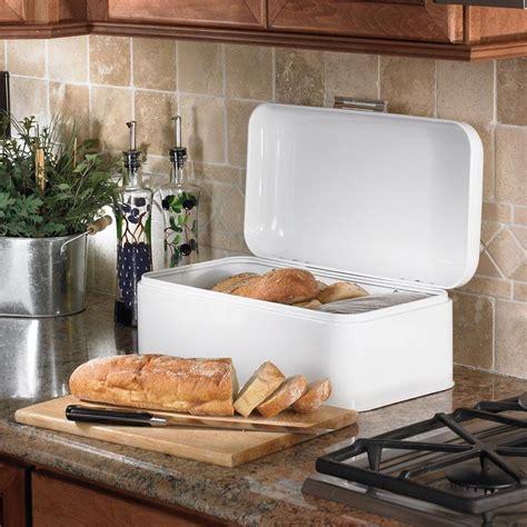 amazoncom polder kth  retro bread boxbin white