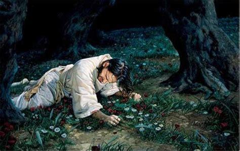 La Hematidrosis De Jesús En El Jardín Del Getsemaní