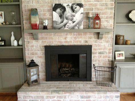 paint  brick fireplace infarrantly creative