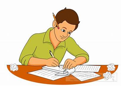 Writer Clipart Paper Write Writing Crumpled Clip