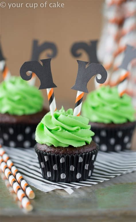 wicked witch cupcakes  cup  cake