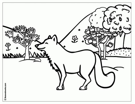 nature scenes coloring pages coloring home