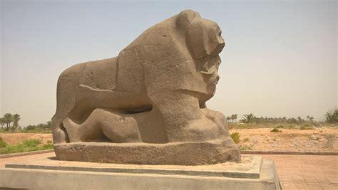 The Mythical Lion Of Babylon Foto Babylon Festival Das