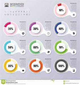 Percentage Diagram Presentation Design Elements