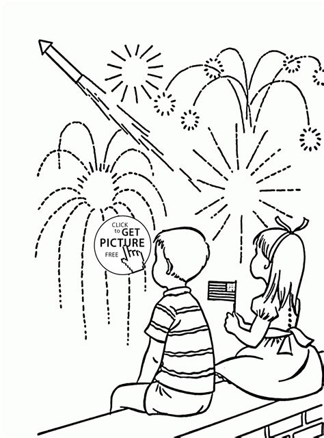 Indian Independence Day Coloring Pages by Fireworks Coloring Pages Printable Az Coloring Pages