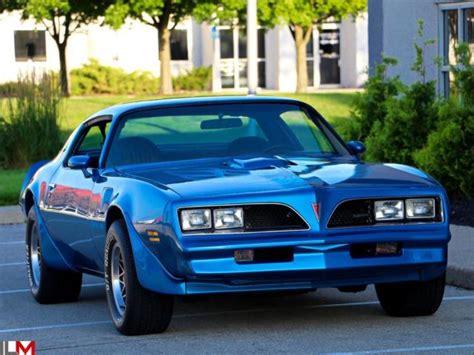1978 Blue Trans Am by Seller Of Classic Cars 1978 Pontiac Trans Am Blue Black