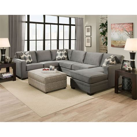 sectional with chaise and ottoman extra large sectional sofas with chaise sectional sofas