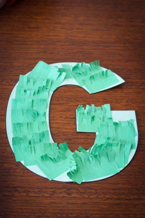 letter g crafts preschool letter g in my world