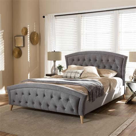 Interiors Wholesale by Wholesale Interiors Baxton Studio Upholstered Platform Bed