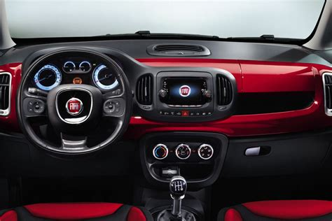 5ooblog  Fiat 5oo New Fiat 500 L Interior (official Pics