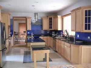 Kitchen Wall Colors With OAK Cabinets Home Furniture Design