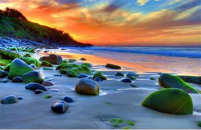 Beach Wallpapers Scape 4k Romantic Hdr Wonderful