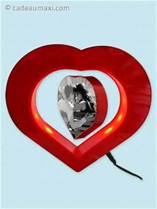 Cadre Photo Lumineux : c ur lumineux avec cadre photo cadeaumaxi ~ Teatrodelosmanantiales.com Idées de Décoration
