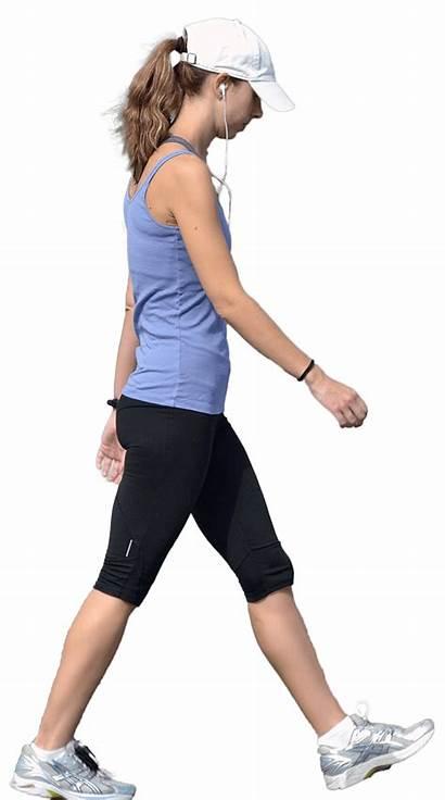 Walking Woman Exercise