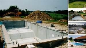 Prix Piscine Beton : prix d une piscine en dur 11 beton construction et montage ~ Nature-et-papiers.com Idées de Décoration