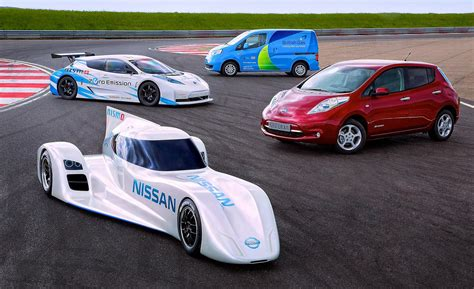 nissan nismo race car nissan leaf nismo rc would get an extra battery when it