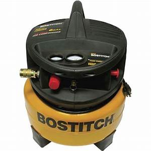 T22332 Stanley Bostitch 6 Gallon Pancake Oil Free Air