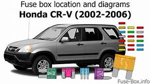 Fuse Box Location And Diagrams  Honda Cr-v  2002-2006