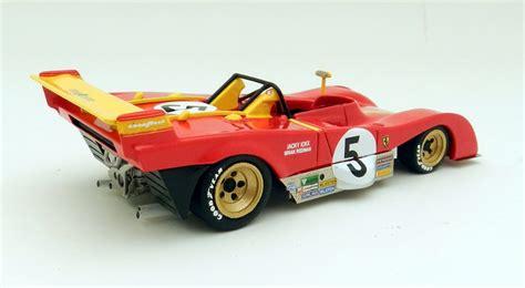 1972 sandro munari italian ferrari 312pb targa florio 1st gg. Ferrari 312PB Targa Florio 1973 #5 by Marsh Models