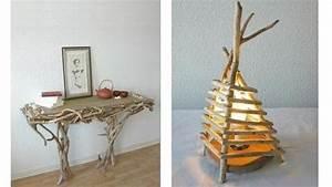 Branche De Bois Deco : du bois flott dans la d co ~ Teatrodelosmanantiales.com Idées de Décoration