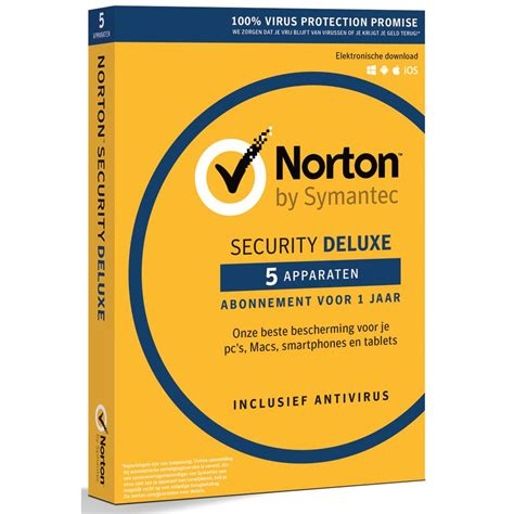 symantec keuken norton security deluxe 5 apparaten accessoires