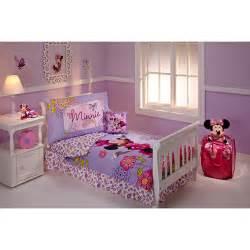 disney minnie mouse toddler bedding set walmart