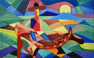 mar vista 39 s art abstract painter of mexican and japanese culture
