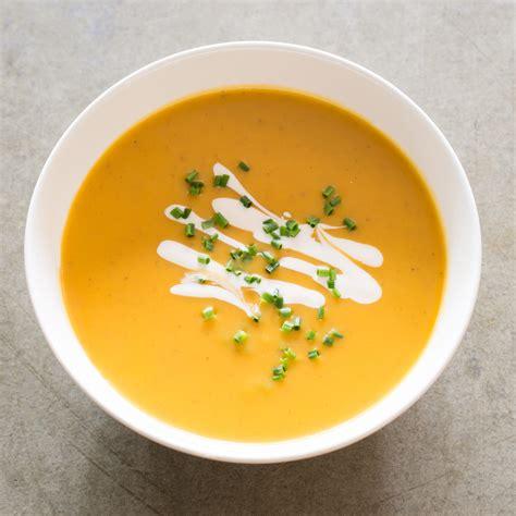 sweet soup sweet potato soup america s test kitchen